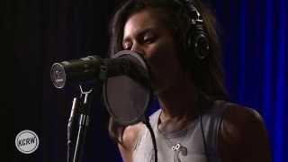 "AlunaGeorge performing ""Your Drums, Your Love"" Live at the Village on KCRW"