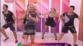 """Cantora MARIA LISBOA """"Zumbando Comigo"""" em 01 04 2015 no Alô Portugal SIC - Contacto para Espetáculos"""