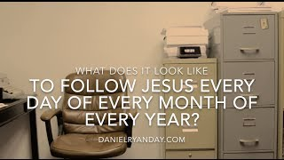 How do you live out your faith in Jesus every day?