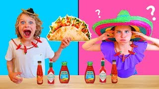 Twin Telepathy of TACO Challenge !!  ft The Norris Nuts