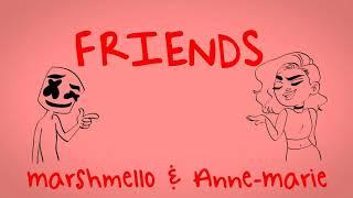 Marshmello & Anne-Marie - Friends - Clean