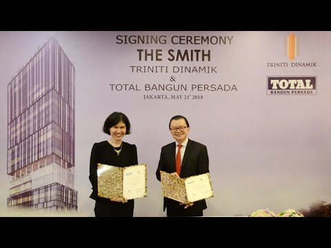 THE SMITH - Signing Ceremony