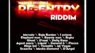 Mavado - X-Rated (Raw) [Re-Entry Riddim] (Gal Seh She Wicked) May 2013