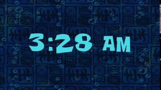 3:28 AM | SpongeBob Time Card #12