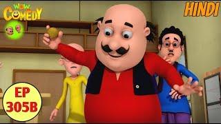Motu Patlu | Cartoon in Hindi | 3D Animated Cartoon Series for Kids | Dr. Jhatka Ka Twister Lattu width=
