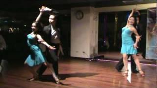 Lady -- Salsa group dance