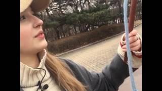 【 ZIM 話題無限誌】俄羅斯天菜美少女教你打陀螺