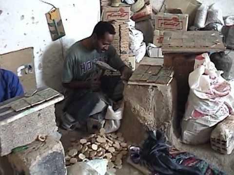 Pottery factories outside the Fes medina, Morocco