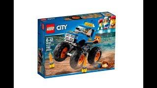 Конструктор LEGO City Great Vehicles - Монстр трак (60180)