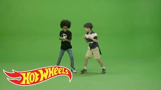 Behind the Scenes: Green Screen Fun | Hot Wheels