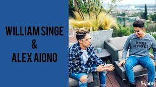 William Singe & Alex Aiono - Fake Love, Broccoli & Caroline Mashup Lyrics