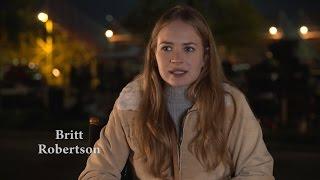 LEGENDADO: Britt Robertson fala sobre A Dog's Purpose (4 Vidas de Um Cachorro)