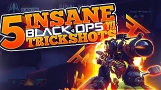 MID-AIR TAG SHOT 2 PIECE! - INSANE BO3 TRICKSHOTS!