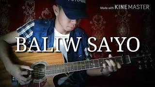 BALIW SA'YO | Jroa ft. Boxs1ne (Fingerstyle Guitar Cover) FREE TABS