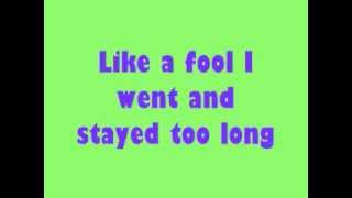 Stevie Wonder- Signed Sealed Delivered I'm Yours Lyrics