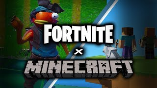 Minecraft Theme on Fortnite Music Blocks