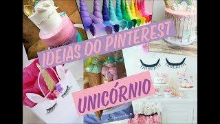 Ideias de festa unicórnio direito do #Pinterest