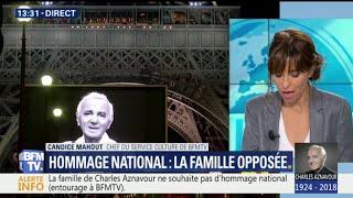 Charles Aznavour: sa famille opposée à un hommage national