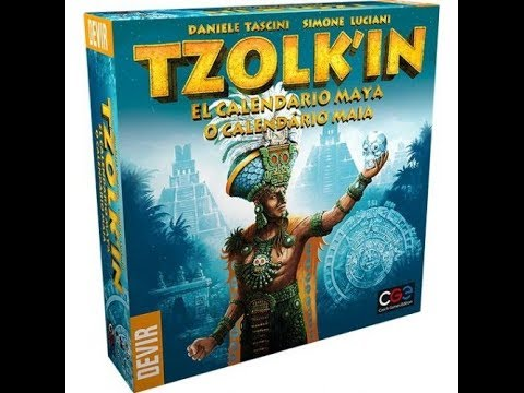 Reseña Tzolk'in: The Mayan Calendar