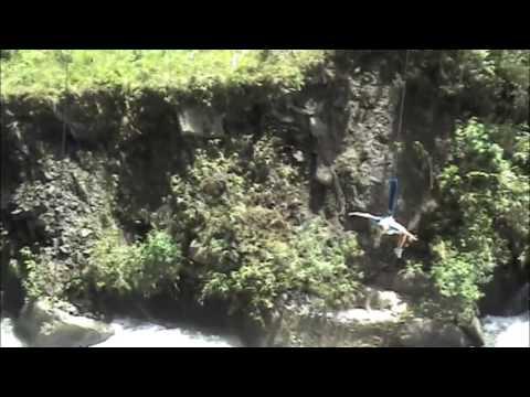 Alyssa Bungee Jumping