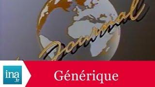 Générique 20h Antenne 2 1985 - Archive INA