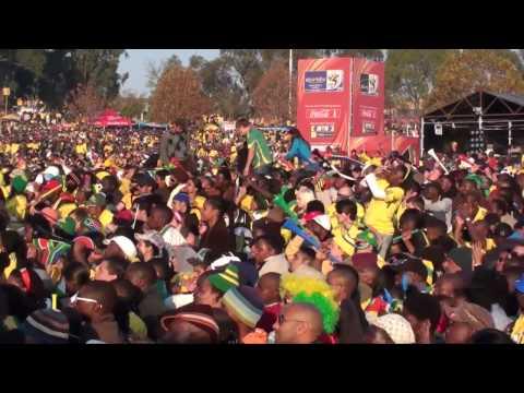 JOHANNESBURG  FAN FEST SUDAFRICA VS MEXICO