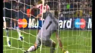 Inter 0   2 Atletico Madrid Supercoppa Uefa 2010 Highlights