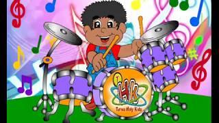 As melhores músicas infantis gospel para criança - Turma Holy Kids - Cuidado Olho, Boca Mão e Pé