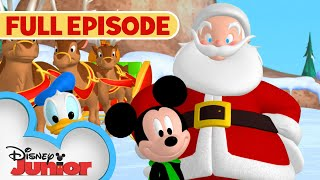 Mickey Saves Santa 🎅🏻   Full Episode   Mickey Mouse Clubhouse   Disney Junior