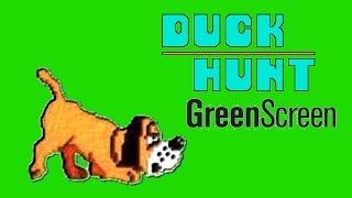 Duck Hunt Green Screen  Cão