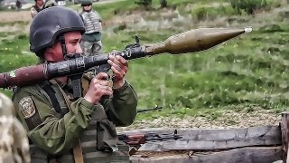 Ukranian Army Gets Some RPG Trigger Time