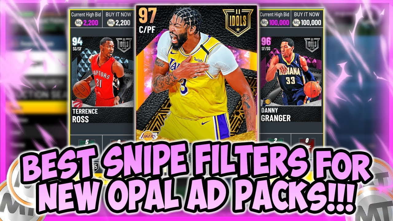 LogicLookss - NBA2K21 - BEST SNIPE FILTERS FOR OPAL ANTHONY DAVIS PACKS!! SNIPE OPALS+MORE!! MAKE EASY AND FAST MT
