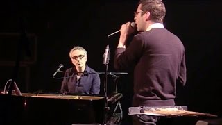 """Vincent Delerm & Alex Beaupain : """"Au parc"""" (Live Europe 1)"""
