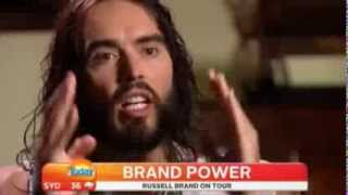 The 38 second clip that will blowing your tiny mind by Russell Brand on Australia Today