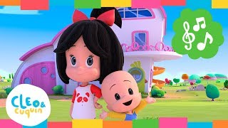 LAUGH AND PLAY (OPENING SONG) Cleo & Cuquin by Familia Telerin. Nursery Rhymes I Songs For Children