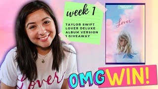 Taylor Swift's LOVER Deluxe Version 1 GIVEAWAY