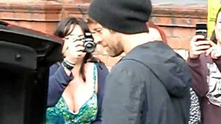 Take That leaving their Manchester hotel...Howard Donald 08/06/2011