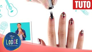 The Lodge - Tuto nail art : Kaylee