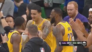 Rajon Rondo Shocks LeBron James With Game Winner vs Celtics! Lakers vs Celtics
