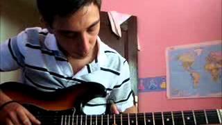 Sonsuz Pentagram intro gitar amatör