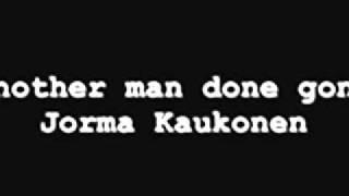 Another man done gone - Jorma Kaukonen