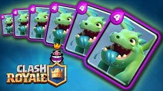 Comercial Clash Royale - Rap Baby Dragon