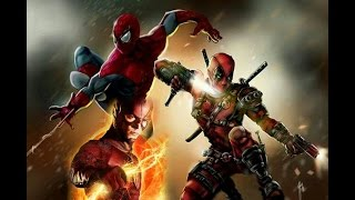 Theflash⚡deadpool⚡spiderman⚡Dmx-party up in here