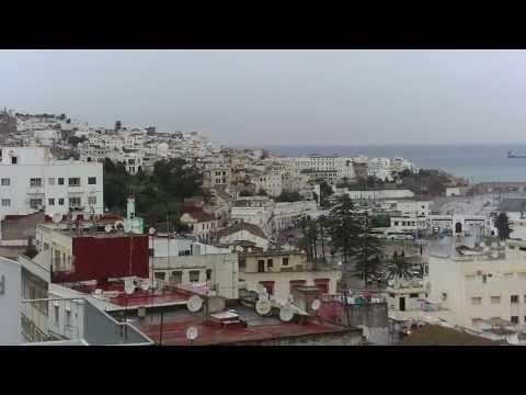 Tanger, vue panoramique: Médina,Port, Plage, Détroit…