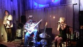 George Worthmore CD Release party with Kellie Rucker on Harmonica with Steve Arvey on Bass