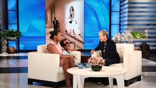 Ellen Recreates Viral Photo with Young Michelle Obama Fan