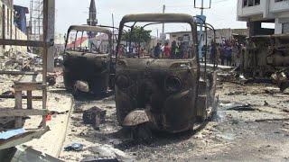 Witnesses recount Somalia bomb attack