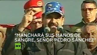 Maduro compara a Pedro Sánchez con Aznar y su papel en la invasión de Irak