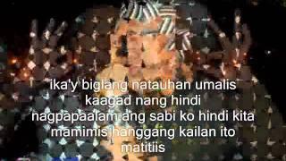 halik by kamikazee with lyrics