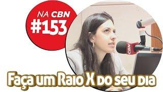 ●153 Faça um Raio X do seu dia | CBN 12/12/14